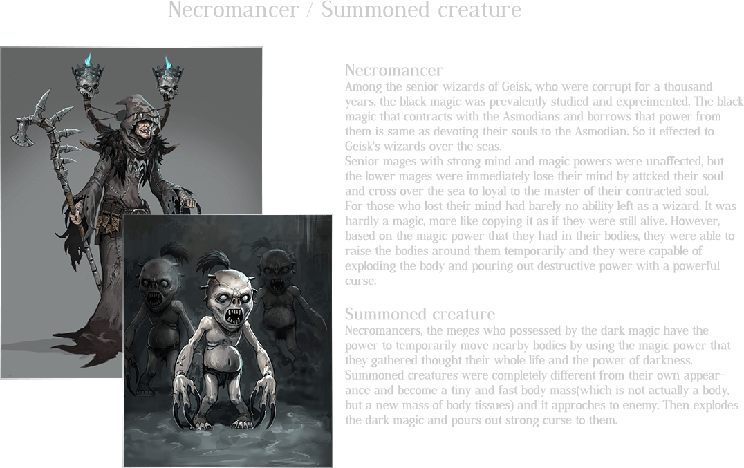 Necromancer / Summoned creature