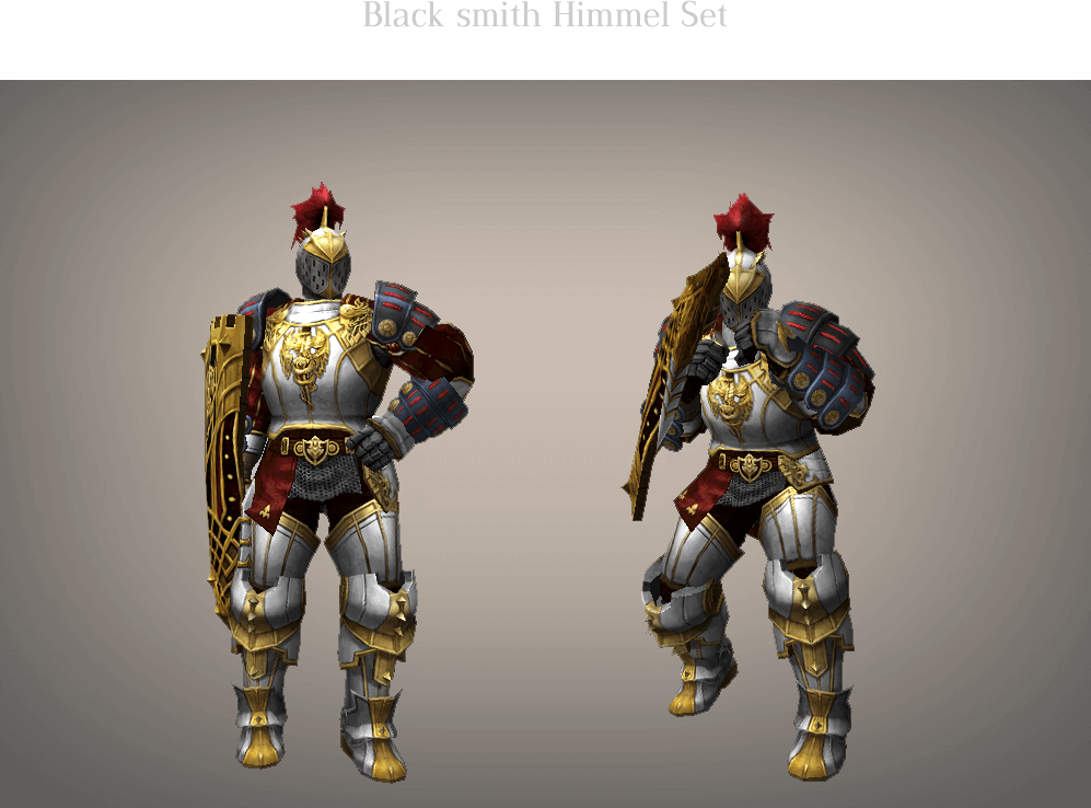 Black smith Himmel Set