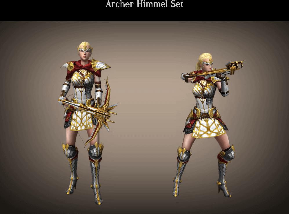 Archer Himmel Set