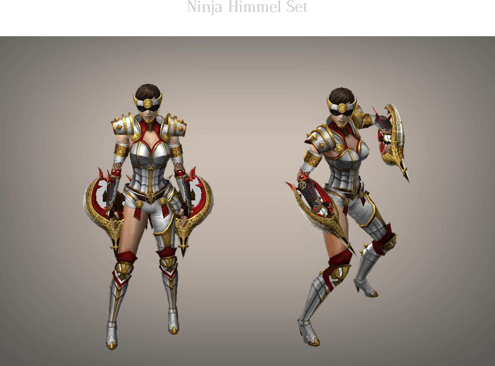 Ninja Himmel Set